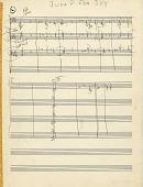 view Jump for Joy [music manuscript page] digital asset: Jump for Joy [music manuscript pages].