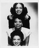view [Three women posed vertically (Joya and Maria Sherrill and Kay Davis)] [copy photoprint] digital asset: [Three women posed vertically (Joya and Maria Sherrill and Kay Davis)] [copy photoprint].