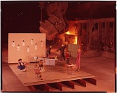 view [Jones & Laughlin ad campaign: staged image of a classroom with molten metal pouring in the background, Aliquippa, 1960 : chromogenic color transparency] digital asset: [Jones & Laughlin ad campaign: staged image of a classroom with molten metal pouring in the background, Aliquippa, 1960 : chromogenic color transparency], 1960.