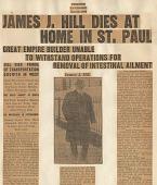 view James J. Hill Scrapbook digital asset: James J. Hill Scrapbook: 1916.