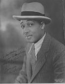 view [Duke Ellington portrait : photoprint] digital asset: [Duke Ellington portrait : photoprint, 1923.]