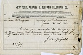 view [James A. Garfield to William Babcock Hazen : telegram.] digital asset: [James A. Garfield to William Babcock Hazen : telegram.]