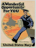 view A wonderful opportunity for you ... U.S. Navy. [Poster.] digital asset number 1