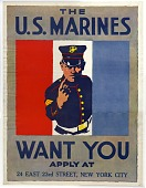 view The U.S. Marines want you ... U.S. Marines. [Poster.] digital asset number 1
