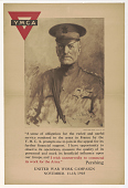 """view """"A Sense of Obligation for the Varied and Useful Rendered to the Army in France by the Y.M.C.A. ... I Wish Unreservedly to Commend Its Work for the Army"""" (Pershing, November 11-18, 1918) digital asset: """"A Sense of Obligation for the Varied and Useful Rendered to the Army in France by the Y.M.C.A. ... I Wish Unreservedly to Commend Its Work for the Army"""" (Pershing, November 11-18, 1918)"""