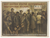 view Buy United States Government War Savings Stamps. Treasury Department. digital asset: Buy United States Government War Savings Stamps. Treasury Department