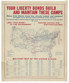 view Your Liberty Bonds Build and Maintain These Camps ... Lend Your Money to the Government / Hasten Victory for Our Fighting Men. digital asset: Your Liberty Bonds Build and Maintain These Camps ... Lend Your Money to the Government / Hasten Victory for Our Fighting Men