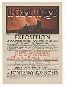 view Le crime de Reims / Exposition de documents authentique pris sur les lieux...au profit des victimes du bombardement de Reims et du refuge Franco-Belge digital asset: Le crime de Reims / Exposition de documents authentique pris sur les lieux...au profit des victimes du bombardement de Reims et du refuge Franco-Belge