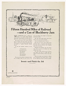 view Fifteen Hundred Miles of Railroad - And a Can of Blackberry Jam ... Invest - And Finish the Job digital asset: Fifteen Hundred Miles of Railroad - And a Can of Blackberry Jam ... Invest - And Finish the Job