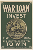 view War Loan Invest Five Shillings and Help Your Country to Win ... digital asset: War Loan Invest Five Shillings and Help Your Country to Win ...