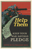 view Help Them Keep Your War Savings Pledge. Treasury Department. digital asset: Help Them Keep Your War Savings Pledge. Treasury Department
