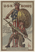 view Usa Bonds Third Liberty Loan Campaign Boy Scouts of America Weapons for Liberty digital asset: Usa Bonds Third Liberty Loan Campaign Boy Scouts of America Weapons for Liberty