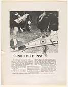 view Blind the Huns! Aeroplanes Are the Eyes of the Army ... Americans, Fight With Your Dollars ... Buy With Your Cash and Buy on Installments ... digital asset: Blind the Huns! Aeroplanes Are the Eyes of the Army ... Americans, Fight With Your Dollars ... Buy With Your Cash and Buy on Installments ...