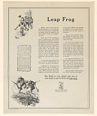 view Leap Frog .. In This Fourth Liberty Loan We Are Showing Them How We Are With Them ... digital asset: Leap Frog .. In This Fourth Liberty Loan We Are Showing Them How We Are With Them ...