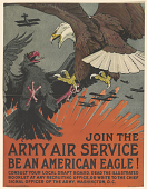 view Join the Army Air Service Be an American Eagle! ... U.S Army Air Corps. digital asset: Join the Army Air Service Be an American Eagle! ... U.S Army Air Corps