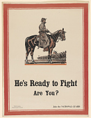 view He's Ready to Fight Are You? Join the National Guard. Citizens Preparedness Association. digital asset: He's Ready to Fight Are You? Join the National Guard. Citizens Preparedness Association