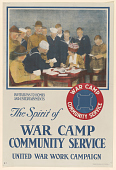 view Invitations to Homes and Entertainments the Spirit of War Camp Community Service ... War Camp Community Service. digital asset: Invitations to Homes and Entertainments the Spirit of War Camp Community Service ... War Camp Community Service