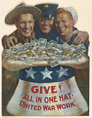 view Give! All in One Hat United War Work digital asset: Give! All in One Hat United War Work