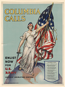 view Columbia Calls / Enlist Now for U.S. Army / Nearest Recruiting Station ... digital asset: Columbia Calls / Enlist Now for U.S. Army / Nearest Recruiting Station ...