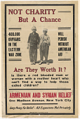 view Not Charity / but a Chance / 400,000 Orphans in the Eastern War Zone / Will Perish Without American Aid ... digital asset: Not Charity / but a Chance / 400,000 Orphans in the Eastern War Zone / Will Perish Without American Aid ...