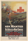 view Men Wanted Over 31 Years of Age for American Red Cross Foreign Service ... digital asset: Men Wanted Over 31 Years of Age for American Red Cross Foreign Service ...