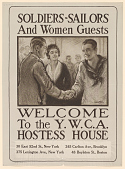 view Soldiers-Sailors and Women Guests / Welcome to the Y.W.C.A. Hostess House ... digital asset: Soldiers-Sailors and Women Guests / Welcome to the Y.W.C.A. Hostess House ...