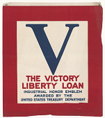view The Victory Liberty Loan Industrial Honor Emblem ... digital asset: The Victory Liberty Loan Industrial Honor Emblem ...