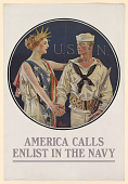 view America Calls Enlist in the Navy. U.S. Navy. digital asset: America Calls Enlist in the Navy. U.S. Navy