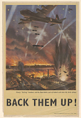 """view Heavy """"Stirling"""" Bombers Raid the Nazi Baltic Port of Lübeck and Leave the Docks Ablaze Back Them Up! digital asset: Heavy """"Stirling"""" Bombers Raid the Nazi Baltic Port of Lübeck and Leave the Docks Ablaze Back Them Up!"""
