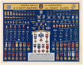 view Insignia, Medals and Decorations U.S. Navy, Marines and Coast Guard ... digital asset: Insignia, Medals and Decorations U.S. Navy, Marines and Coast Guard ...