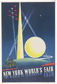 view New York World's Fair the World of Tomorrow 1939 digital asset: New York World's Fair the World of Tomorrow 1939