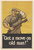 "view Princeton University Poster Collection digital asset: ""Get a Move on Old Man!"""