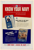 view Know Your Navy / These Two Booklets Tell You All the Facts ... Don't Wait--Choose the Navy digital asset: Know Your Navy / These Two Booklets Tell You All the Facts ... Don't Wait--Choose the Navy