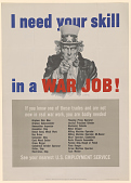 view I Need Your Skill in a War Job! ... digital asset: I Need Your Skill in a War Job! ...
