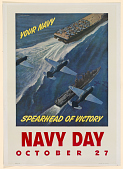 view Your Navy Spearhead of Victory Navy Day October 27th digital asset: Your Navy Spearhead of Victory Navy Day October 27th