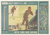 view Help Equip G.I. Joe / With Your War Savings ... digital asset: Help Equip G.I. Joe / With Your War Savings ...
