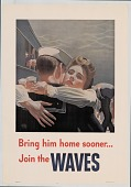 view Bring him home sooner / Join the Waves. U.S. Navy : [Poster.] digital asset number 1