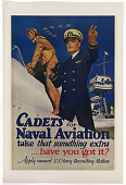 view Cadets for Naval Aviation Take That Something Extra / Have You Got It? ... digital asset: Cadets for Naval Aviation Take That Something Extra / Have You Got It? ...
