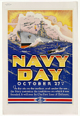 view Navy Day October 27th in the Air, on the Surface, and Under the Sea, the Navy Maintains the Traditions on Which It Was Founded ... digital asset: Navy Day October 27th in the Air, on the Surface, and Under the Sea, the Navy Maintains the Traditions on Which It Was Founded ...