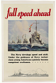 view Full Speed Ahead / the Navy Develops Speed and Skill ... digital asset: Full Speed Ahead / the Navy Develops Speed and Skill ...