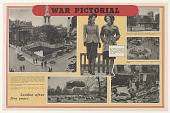 view War Pictorial/ London After Five Years digital asset: War Pictorial/ London After Five Years