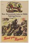 view Your Groundnuts Help to Feed Fighting Forces/ Thank You Nigeria! digital asset: Your Groundnuts Help to Feed Fighting Forces/ Thank You Nigeria!