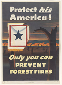 view Protect His America! Only You Can Prevent Forest Fires. Agriculture Department. digital asset: Protect His America! Only You Can Prevent Forest Fires. Agriculture Department