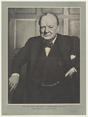 view The Rt. Hon. Winston S. Churchill, C.H., M.P., Prime Minister of Great Britain digital asset: The Rt. Hon. Winston S. Churchill, C.H., M.P., Prime Minister of Great Britain