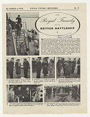 view The Empire at War Special Picture Supplement the Royal Family Visits British Battleship ... West African Soldiers Learn Skilled Trades ... digital asset: The Empire at War Special Picture Supplement the Royal Family Visits British Battleship ... West African Soldiers Learn Skilled Trades ...