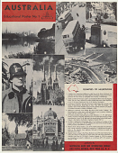 view Australia Educational Poster No. 1/ Glimpses of Melbourne ... digital asset: Australia Educational Poster No. 1/ Glimpses of Melbourne ...