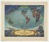 view Routes of the Flying Clipper Ships ... digital asset: Routes of the Flying Clipper Ships ...