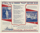 view A Call to a Breed That Never Dies ... Come Man the Ships / the Navy Needs You Now!. U.S digital asset: A Call to a Breed That Never Dies ... Come Man the Ships / the Navy Needs You Now!. U.S