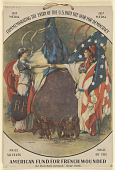 view Commemorating the Entry of the U.S. Into the War for Democracy 1917 Medal Price 50 Cents ... digital asset: Commemorating the Entry of the U.S. Into the War for Democracy 1917 Medal Price 50 Cents ...