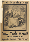 """view Their Morning Hate the New York Herald 100% American and Squarely Behind """"Old Glory"""" digital asset: Their Morning Hate the New York Herald 100% American and Squarely Behind """"Old Glory"""""""
